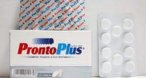 برونتو بلس أقراص مسكن للالم وخافض للحرارة Pronto Plus Tablets