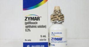 زيمار قطرة لعلاج التهاب العين وقرحة القرنية والتهاب الأذن Zymar Drops