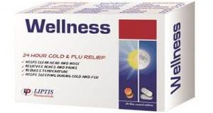 ويلنس أقراص لعلاج نزلات البرد والإنفلونزا Wellness Tablets