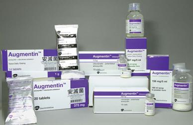 اوجمنتين مضاد حيوي واسع المجال Augmentin