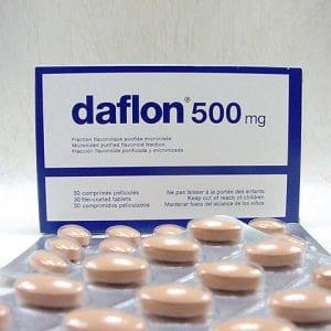 Daflon 500 tablets durg