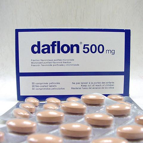 دافلون 500 مجم لعلاج البواسير والمقوي للأوعية الدموية Daflon 500 tablets