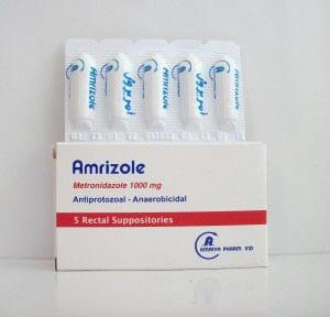 Amrizole Suppository