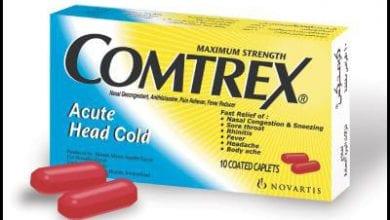 كومتركس اقراص لعلاج اعراض البرد والانفلونزا Comtrex Tablets