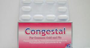 كونجيستال أقراص لنزلات البرد والأنفلونزا Congestal Tablets