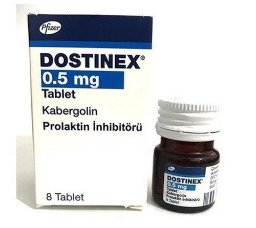 حبوب دوستينيكس DOSTINEX 0.5MG 2 TAB.