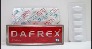 دافركس اقراص لتقوية وعلاج قصور الاوعية الدموية Dafrex tablets