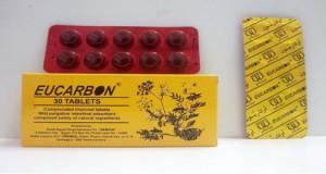 أوكاربون أقراص منظم لوظائف الامعاء وعلاج الانتفاخ Eucarbon Tablets