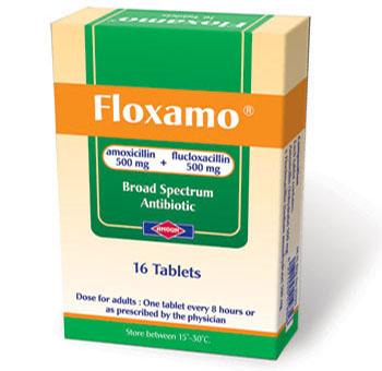 فلوكسامو أقراص مضاد حيوى واسع المجال Floxamo Tablets