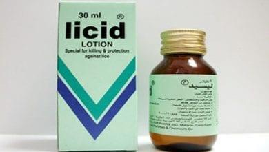 ليسيد لوسيون لقتل القمل والوقاية منه Licid Lotion