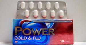 باور كولد اند فلو أقراص لعلاج نزلات البرد Power Cold & Flu Tablets