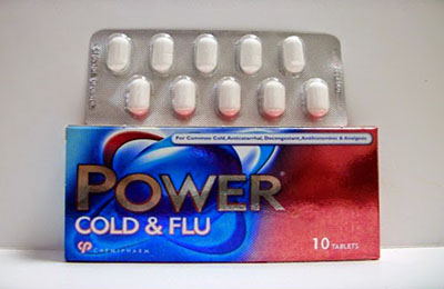 POWER COLD  FLU Tablets