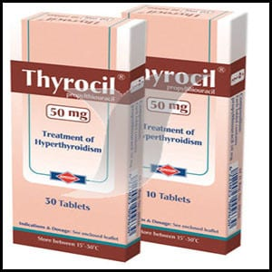 ثيروسيل أقراص Thyrocil Tablets