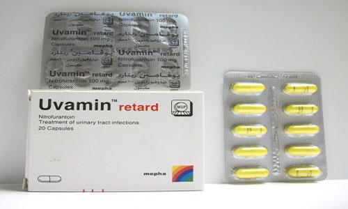 يوفامين ريتارد كبسول لعلاج التهابات المسالك البولية Uvamin retard Capsules