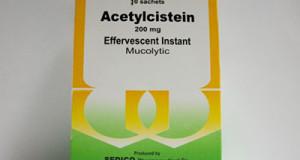 أستيل سستايين فوار مذيب للبلغم Acetylcysteine Effervescent