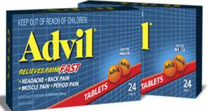 أدفيل أقراص كبسولات مسكن للآلام ومضاد للالتهابات Advil Tablets