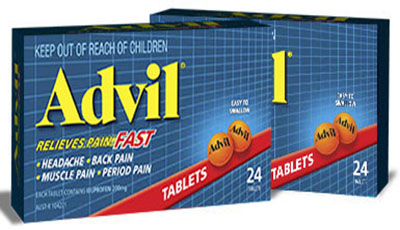 أدفيل أقراص كبسولات مسكن للآلام ومضاد للالتهابات Advil Tablets