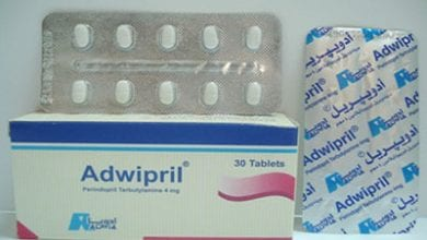 أدويبريل أقراص لعلاج ضغط الدم المرتفع Adwipril Tablets