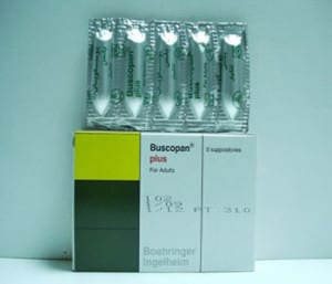 Buscopan Suppositories