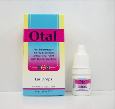 أوتال نقط للأذن مسكن ومزيل لشمع الأذن Otal Ear Drops