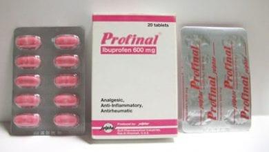 بروفينال أقراص معلق مسكن للآلام ومضاد للالتهابات Profinal Tablets