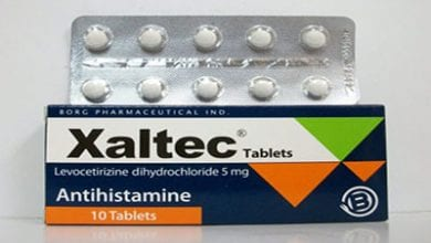 زالتيك أقراص شراب مضاد للحساسية Xaltec Tablets