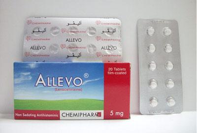 أليفو أقراص مضاد للحساسية والالتهابات Allevo Tablets