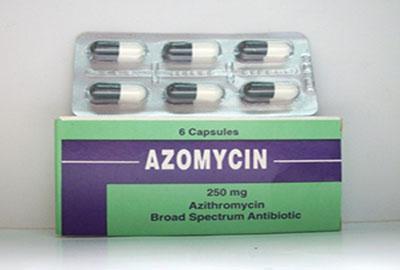 أزومايسين كبسولات معلق مضاد حيوي واسع المجال Azomycin Capsules