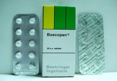 بوسكوبان اقراص 10 مجم لعلاج القولون العصبي وتقلصات المعدة Buscopan tablets 10 mg