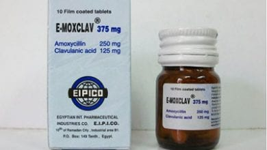 ايموكسكلاف أقراص شراب مضاد حيوي واسع المجال E-Moxclav Tablets