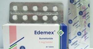 إديمكس أقراص لضغط الدم المرتفع ومدر للبول Edemex Tablets