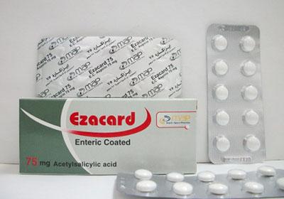 إيزاكارد أقراص مسكن للالام وخافض للحرارة Ezacard Tablets