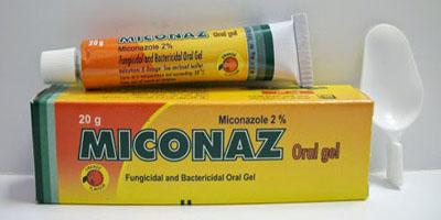 ميكوناز جل لعلاج فطريات الفم واللسان Miconaz Oral Gel