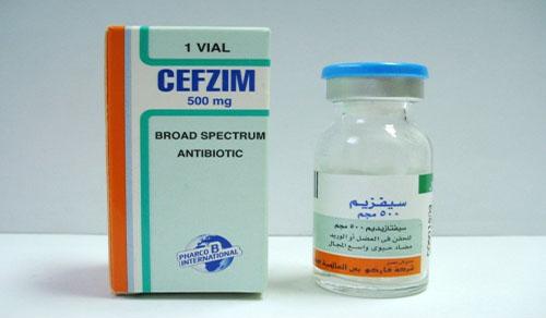 سيفزيم حقن مضاد حيوي واسع المجال Cefzim Vial