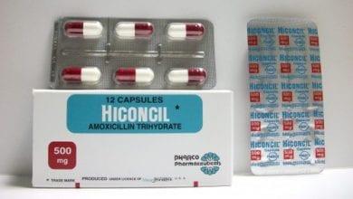 هايكونسيل كبسولات مضاد حيوى واسع المجال Hiconcil Capsules
