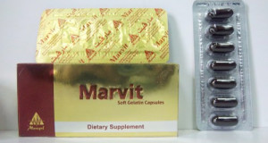 مارفيت كبسولات شراب لعلاج نقص الفيتامينات Marvit Capsules