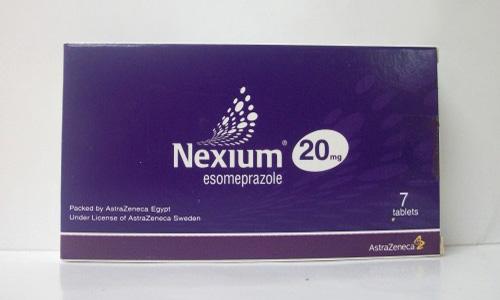 نكسيوم أقراص فيال لعلاج قرحة المعدة والحموضة Nexium Tablets