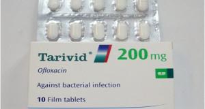 تاريفيد أقراص مضاد حيوي لعلاج الالتهابات البكتيرية Tarivid Tablets