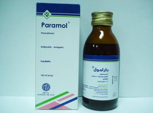 بارامول شراب PARAMOL 120MG-5ML SYRUP 125ML