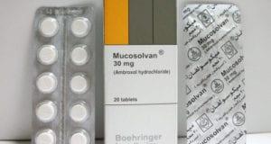 ميكوسولفان أقراص شراب نقط لعلاج اضطرابات الجهاز التنفسى Mucosolvan Tablets