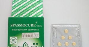 سبازموكيور أقراص للعلاج الألام الناتجة عن تقلص العضلات الرخوة SpasmoCure Tablets