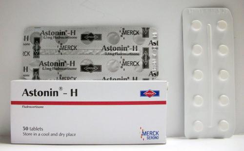 أستونين – هـ أقراص لعلاج ضغط الدم المنخفض Astonin - H Tablets