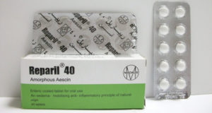 ريباريل أقراص لعلاج الدوالى ومضاد للالتهابات Reparil Tablets
