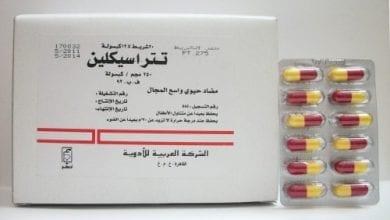تتراسيكلين كبسولات مرهم لعلاج حب الشباب والالتهابات البكتيرية Tetracycline