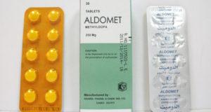 الدوميت أقراص لتخفيض ضغط الدم Aldomet Tablets