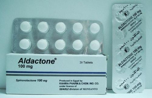 الداكتون أقراص لعلاج ضغط الدم المرتفع Aldactone Tablets