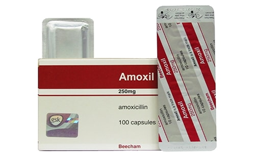 أموكسيل كبسولات شراب مضاد حيوي واسع المجال Amoxil Capsules