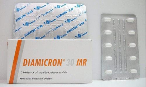 دياميكرون أقراص لخفض مستوى السكر فى الدم Diamicron Tablets