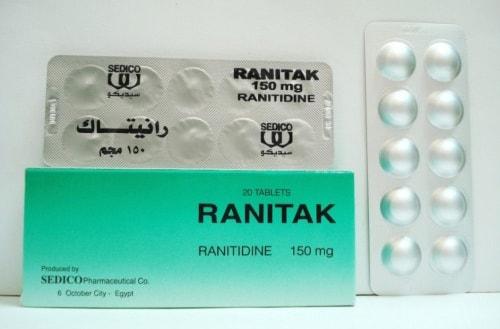 رانيتاك أقراص لعلاج قرحة المعدة والاثنى عشر Ranitak Tablets