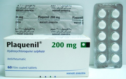 بلاكونيل أقراص لعلاج التهاب المفاصل والتهابات الجلد الحساس Plaquenil Tablets